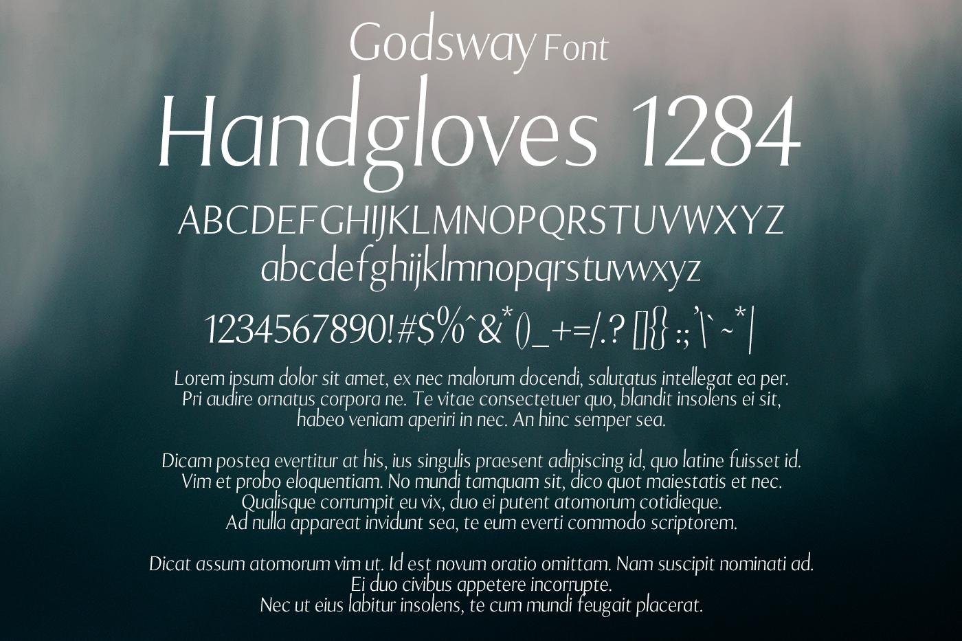 Godsway Font example image 2