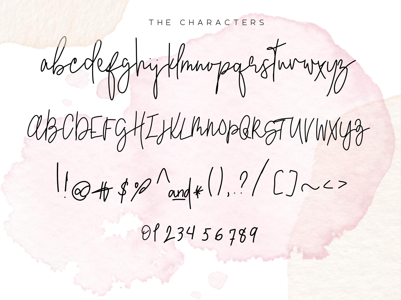 Serendipity - Handwritten Font