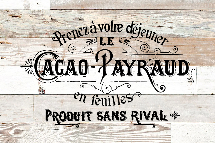 Antique French printable furniture pillow art sublimation example image 2