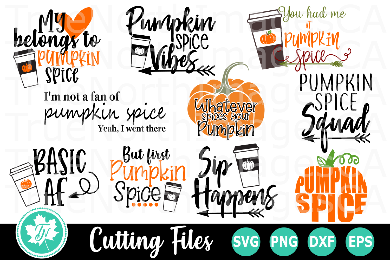 Pumpkin Spice Bundle - SVG Cut Files example image 3