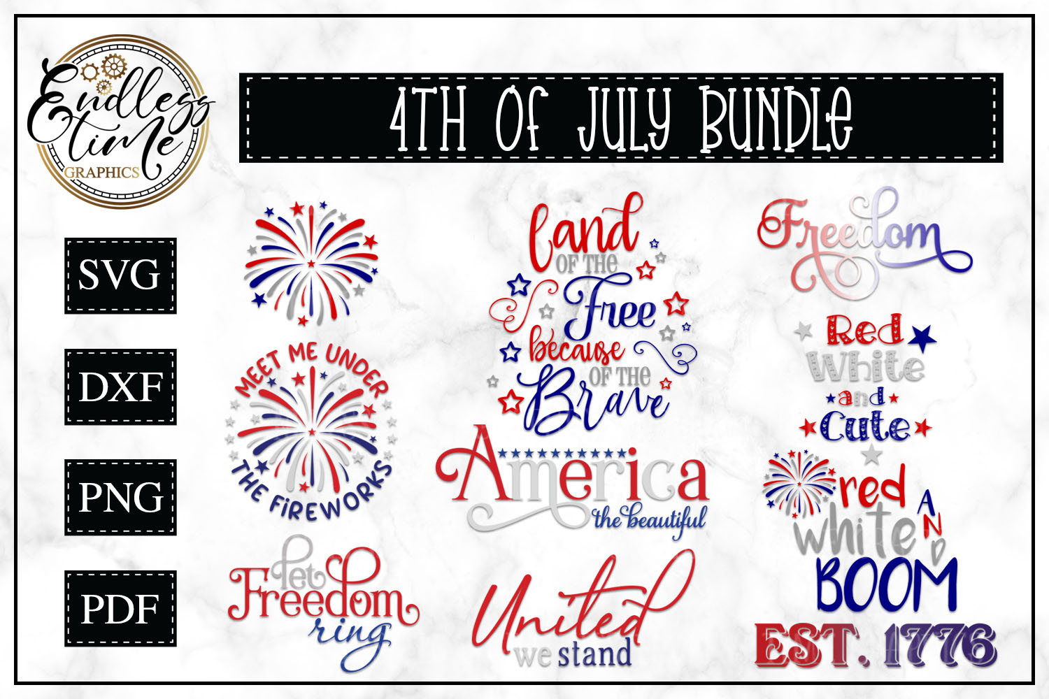 4th of July Bundle  example image 1