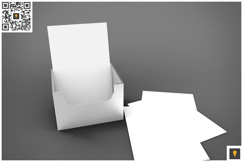 Flyer Holder 3D Render example image 2
