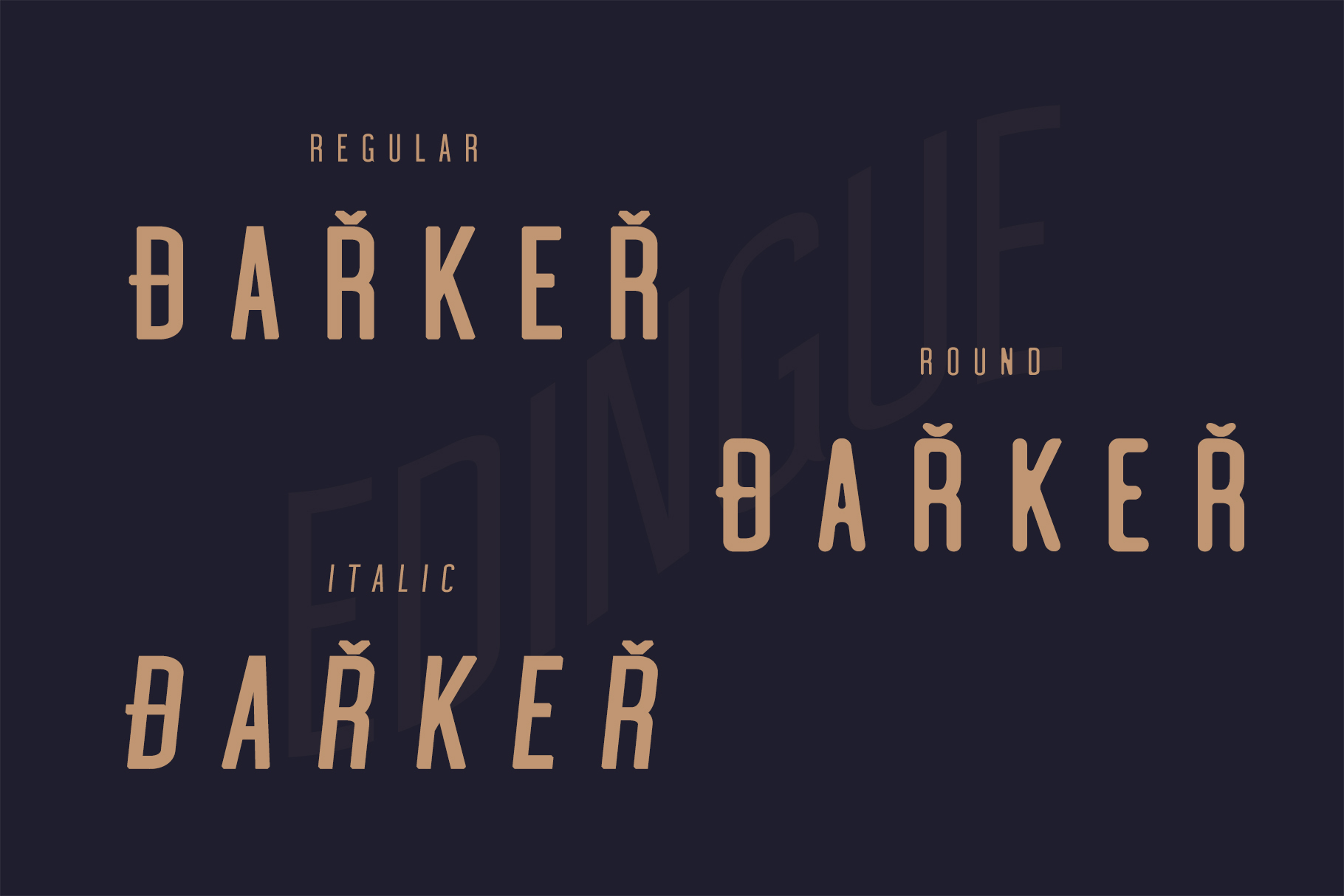 Edingu Sans Serif Font Family example image 7