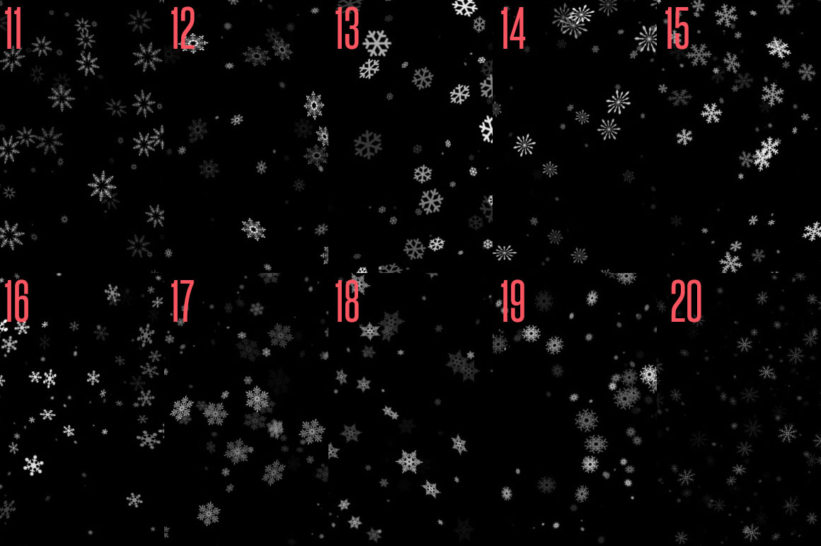 Snowflake Brushes example image 2