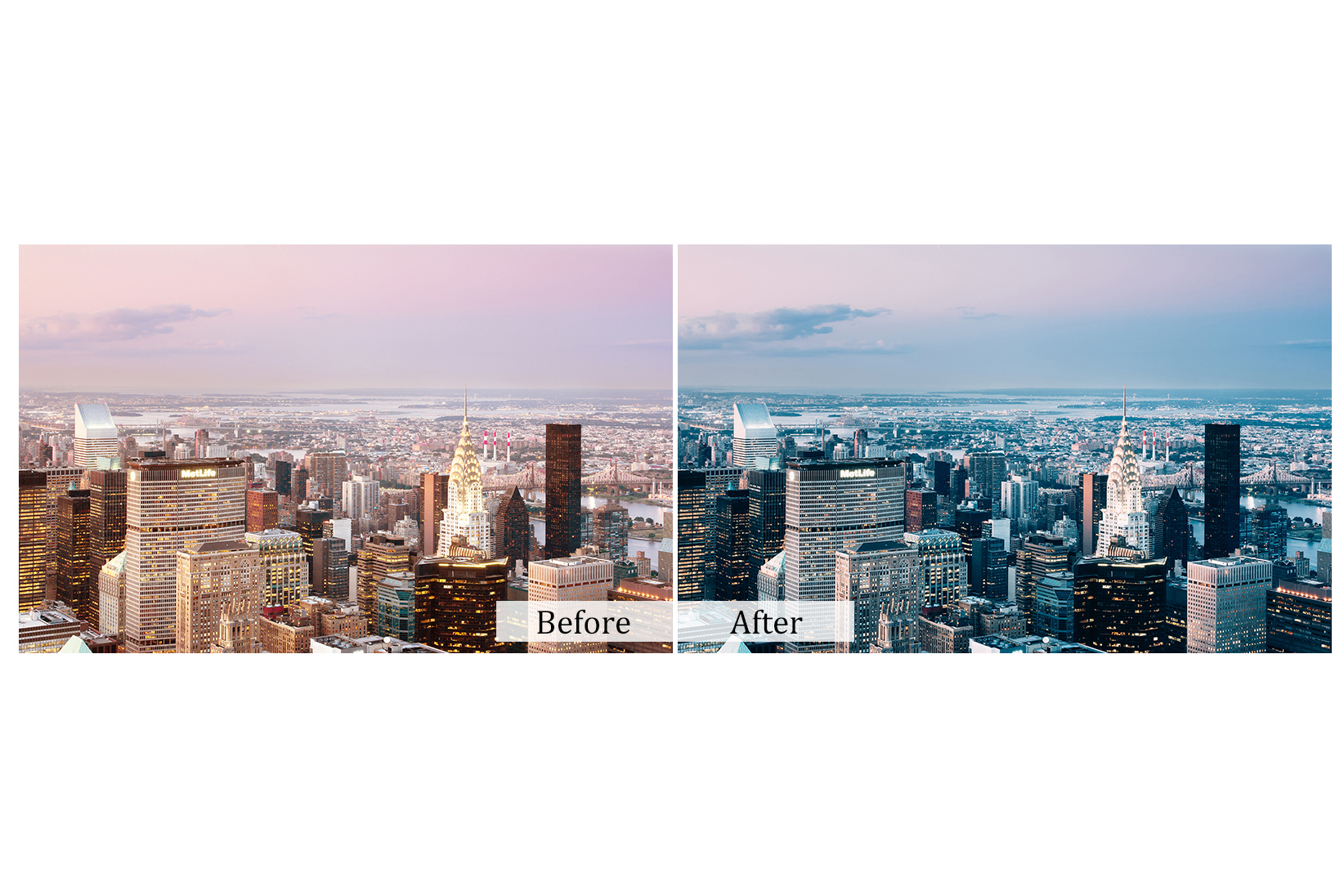 30 Cityscape Photoshop Actions example image 2