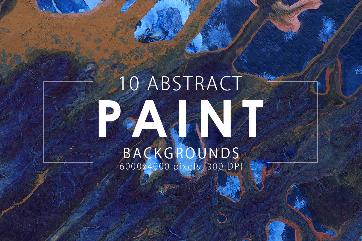 Abstract Paint Backgrounds Vol.1 example image 3