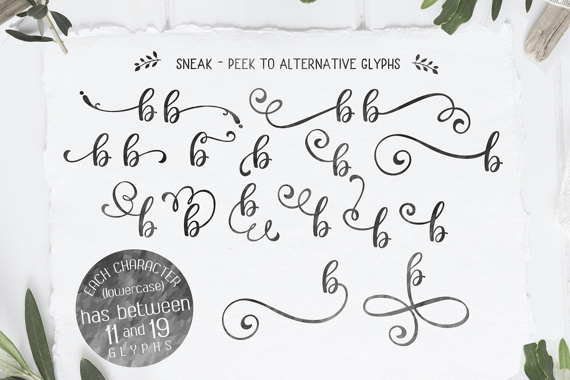 Berson Dream Font TRIO and extras example image 7