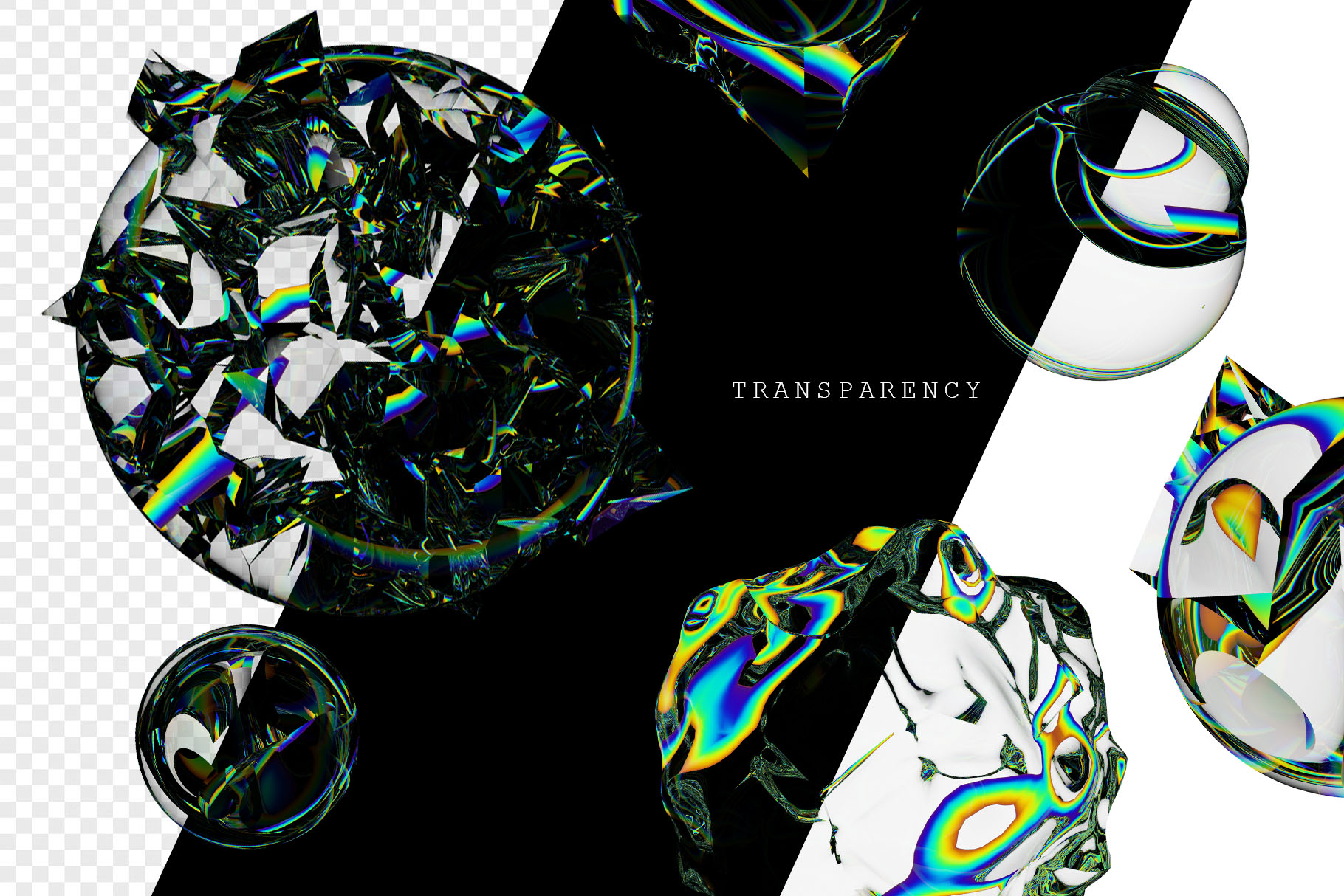 Holographic Shapes and Textures example image 5