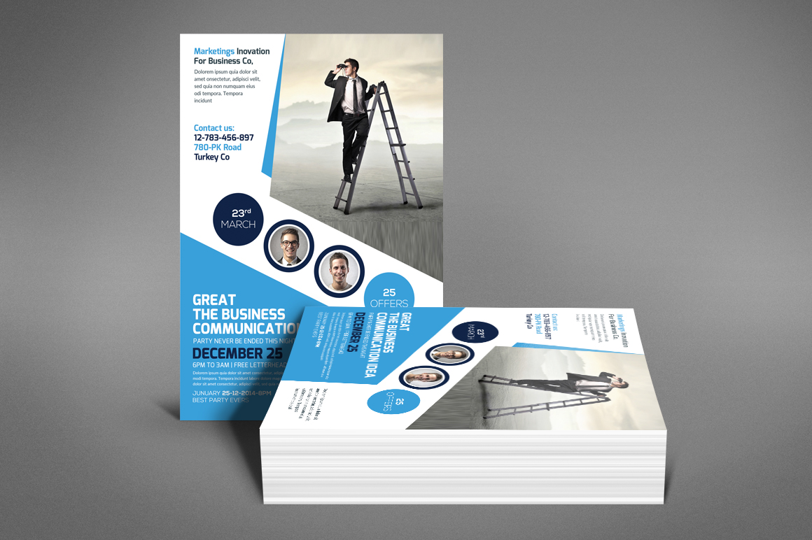 Company Flyer Template example image 4