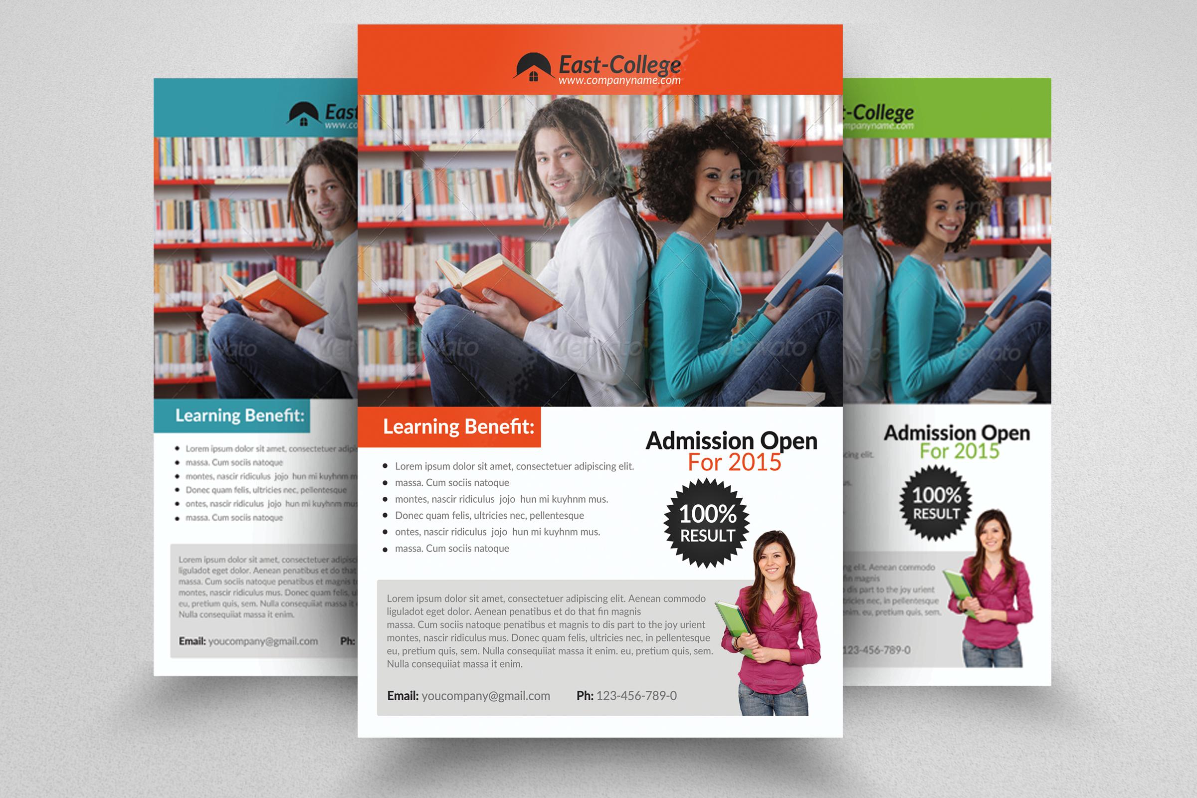 6 School Education Flyers Bundle example image 6
