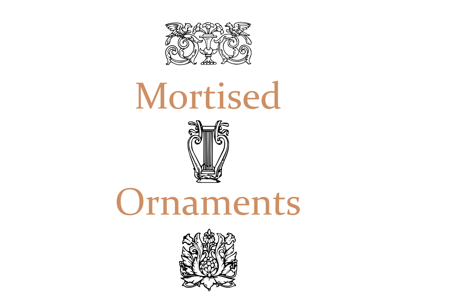 Mortised Ornaments example image 6