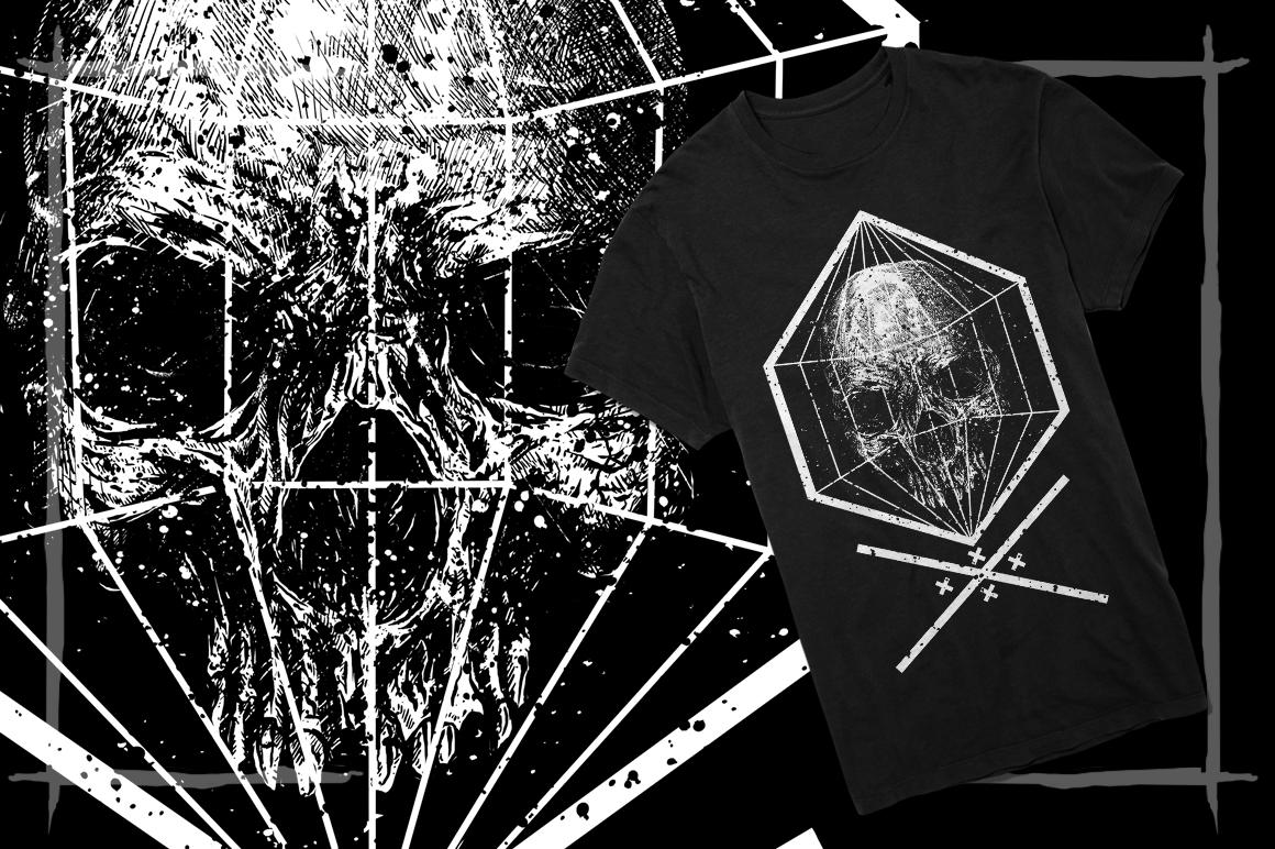 T-Shirt Designs Skull example image 11