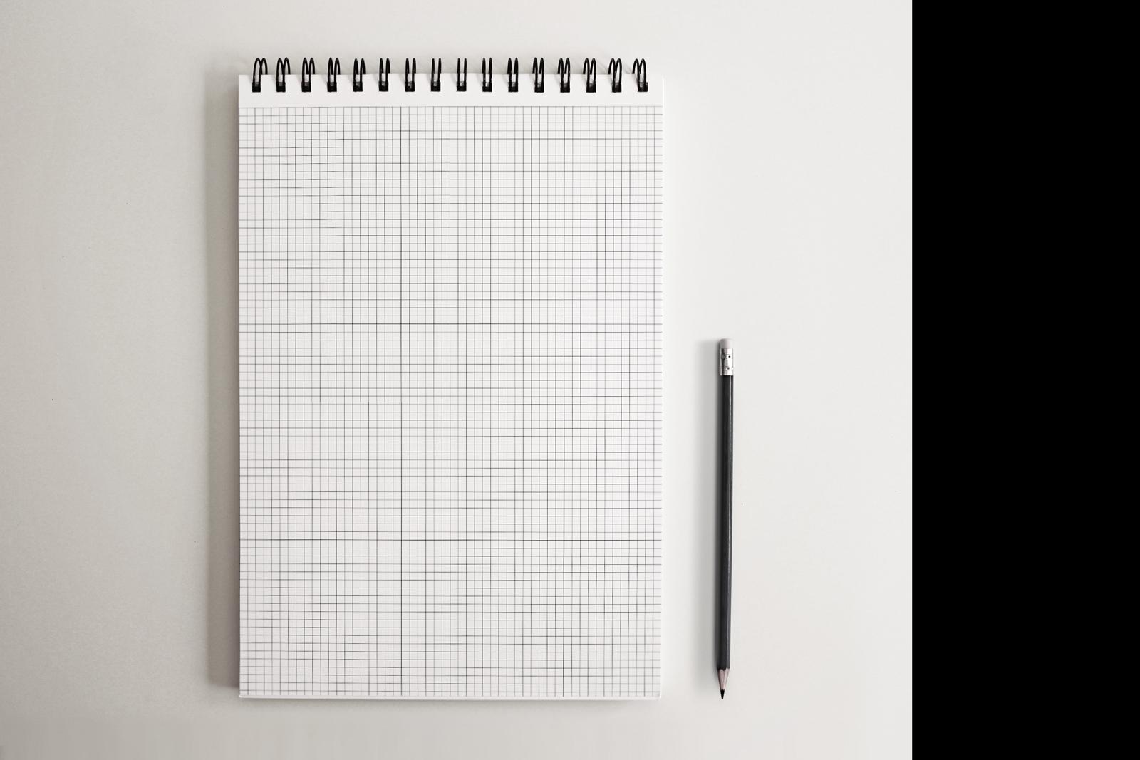 5 SketchBook Mockup NoteBook Mock-up example image 3
