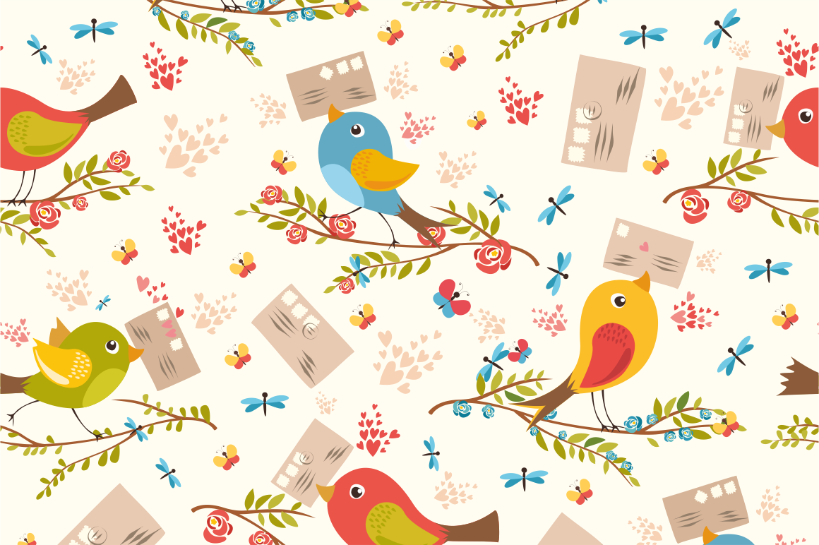 Birds set (vector,jpg,png) example image 5