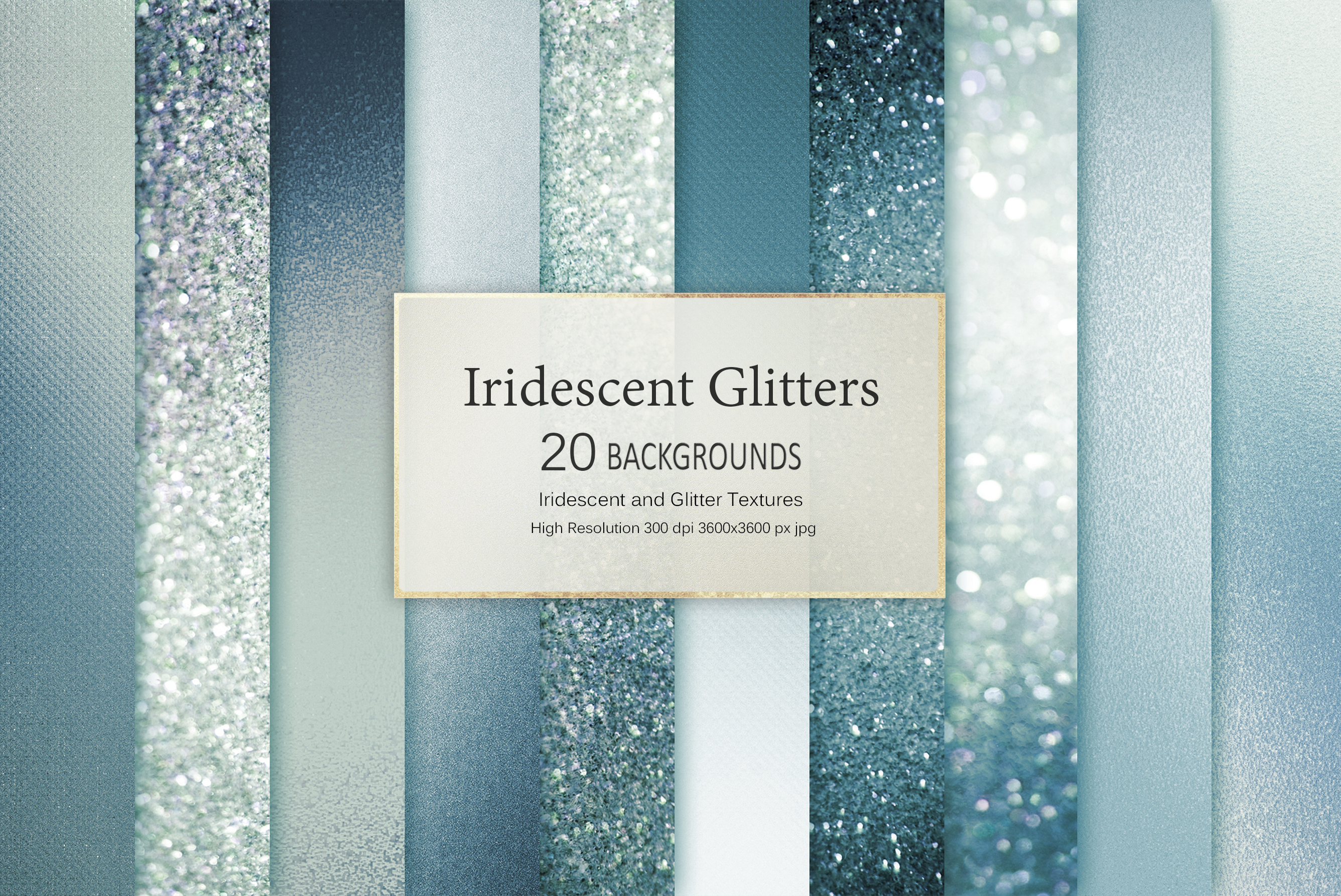 Iridescent and Glitter Foil 180 Textures BUNDLE example image 30