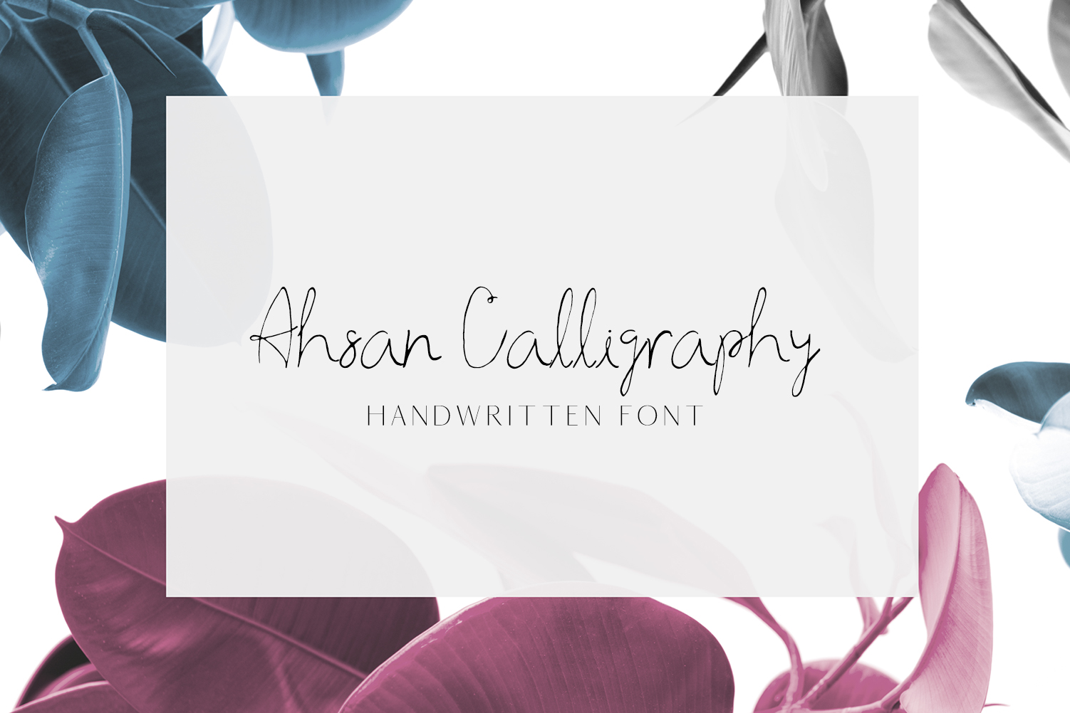 Ahsan Calligraphy Script Font example image 1