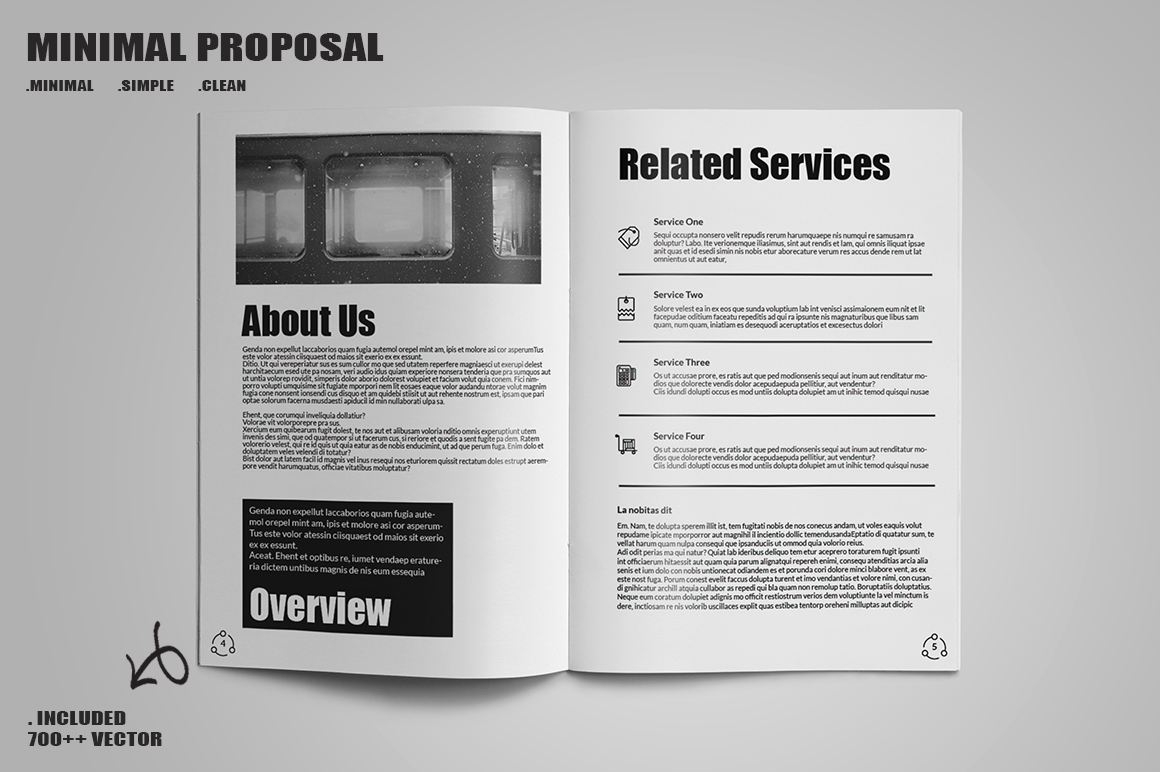 Minimal Proposal Template example image 9