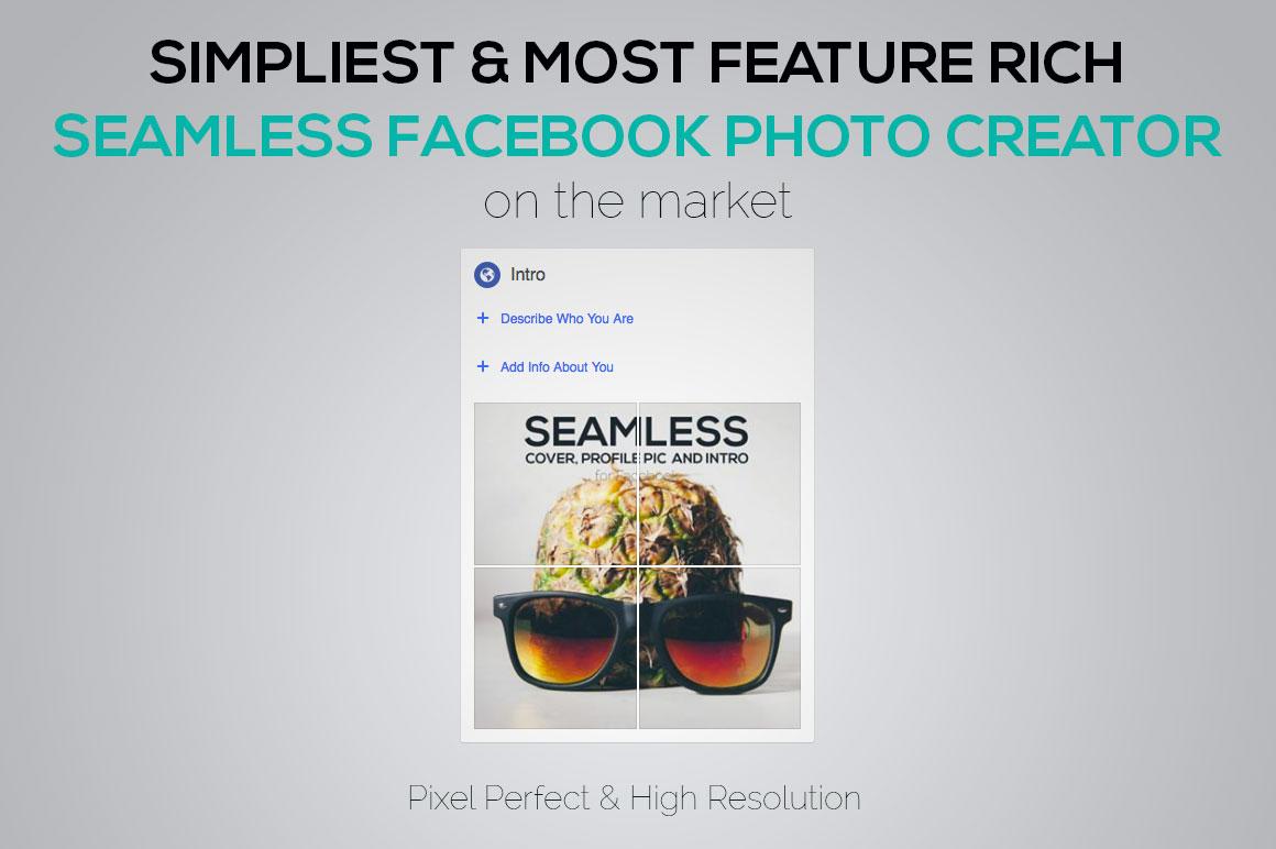 Seamless Facebook Photo Creator example image 5