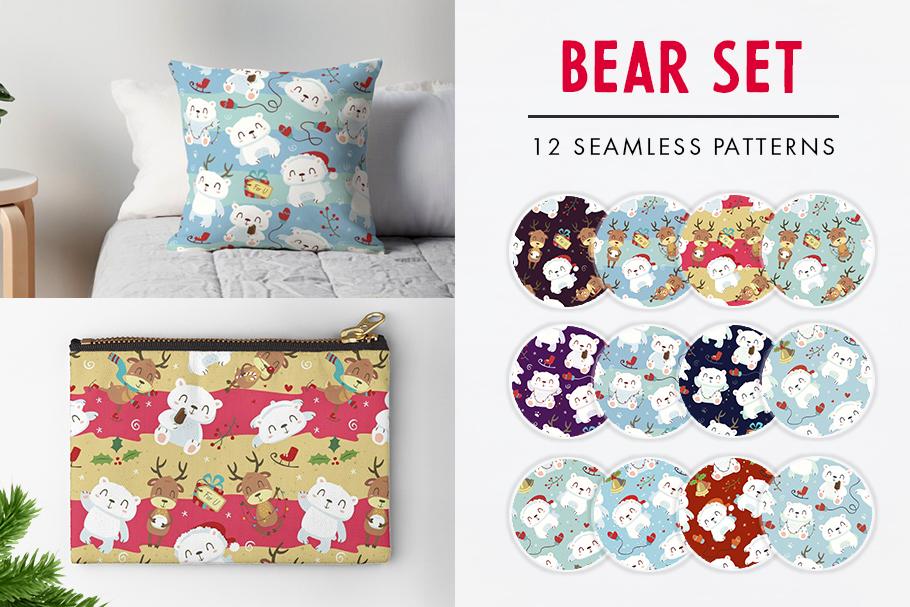 FINAL SALE!  Christmas patterns bundle example image 3