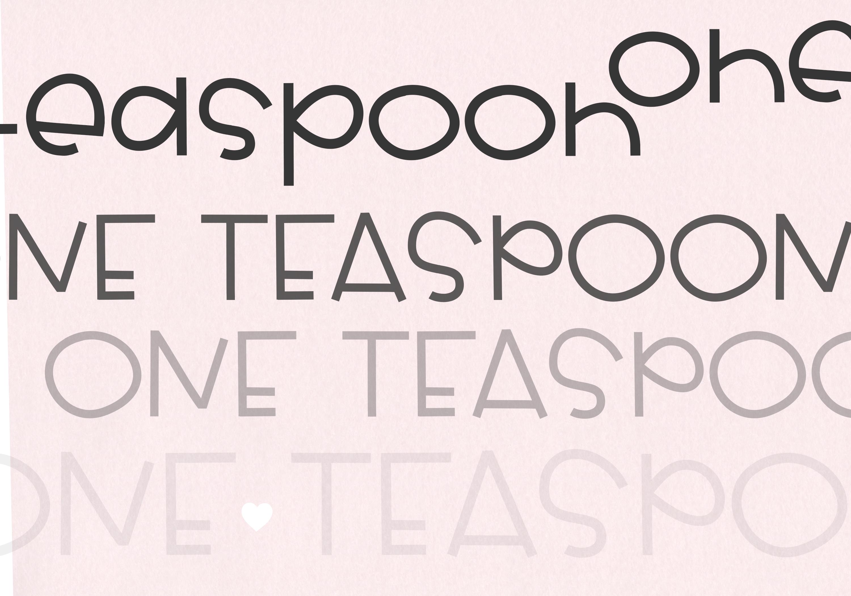 One Teaspoon - Handwritten Font example image 6
