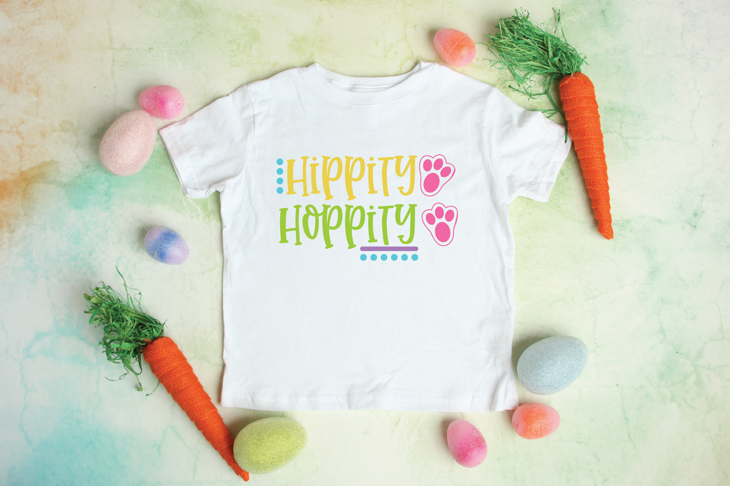 Easter SVG Cut File - Hippity Hoppity SVG DXF EPS PNG JPG AI example image 3