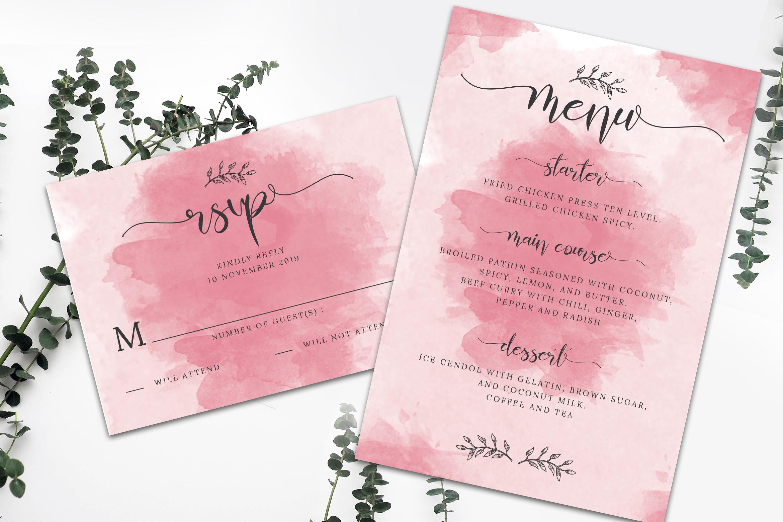 Wedding Invitation Suite vol. 01 example image 3