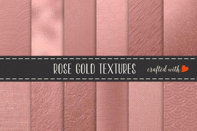 Rose Gold Foils - Rose Gold Backgrounds example image 1