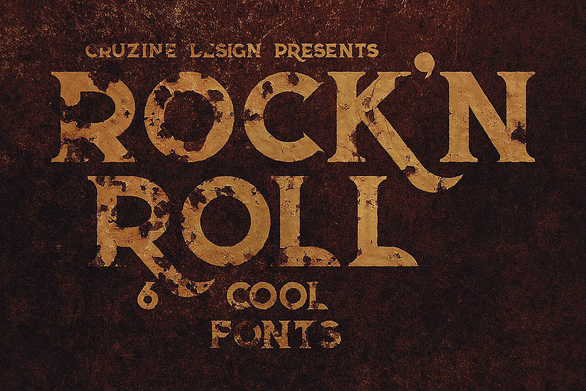 Rock'n Roll Typeface example image 5