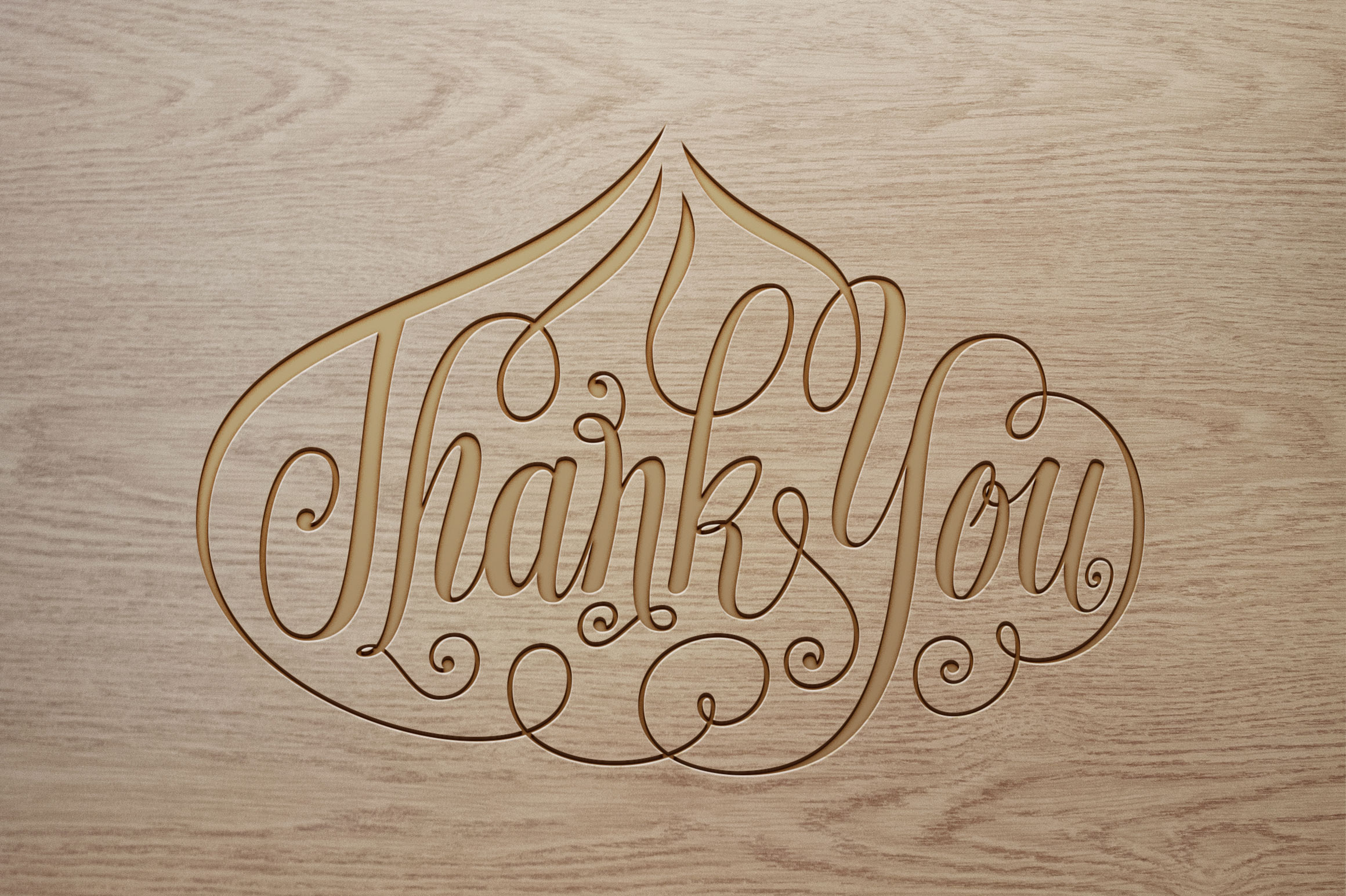 Thank-You-Onion-Shape-Lettering SVG example image 5