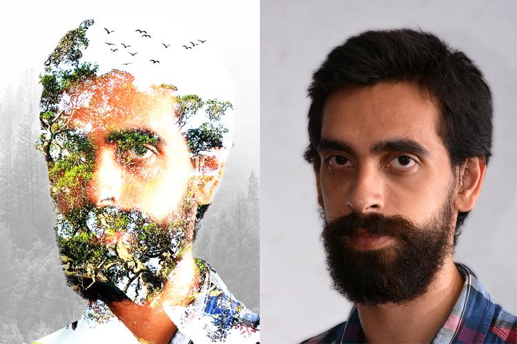 Multiple Exposure Photoshop Action example image 13