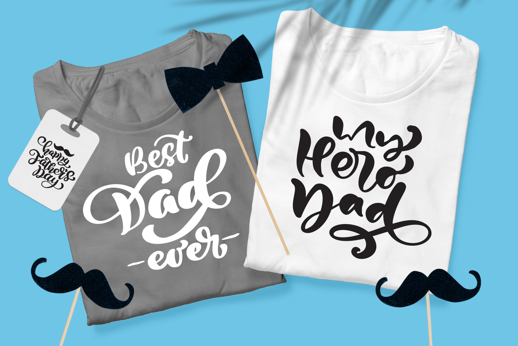 Fathers Day vector SVG greeting quotes example image 4