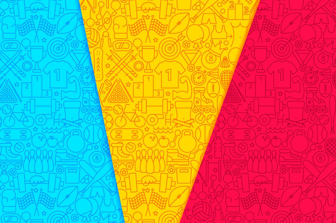 Sport Line Tile Pattern example image 5