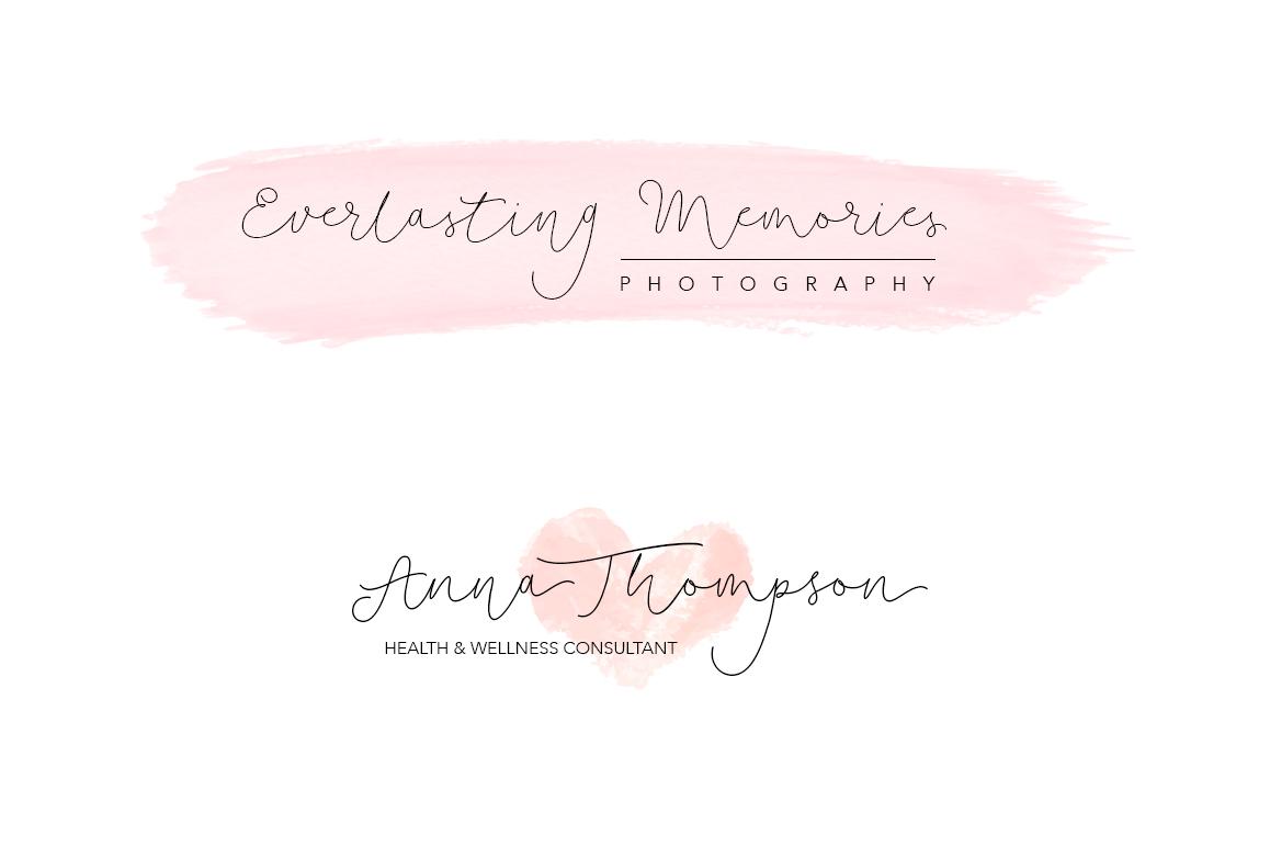Soft Whisperings wedding font example image 9