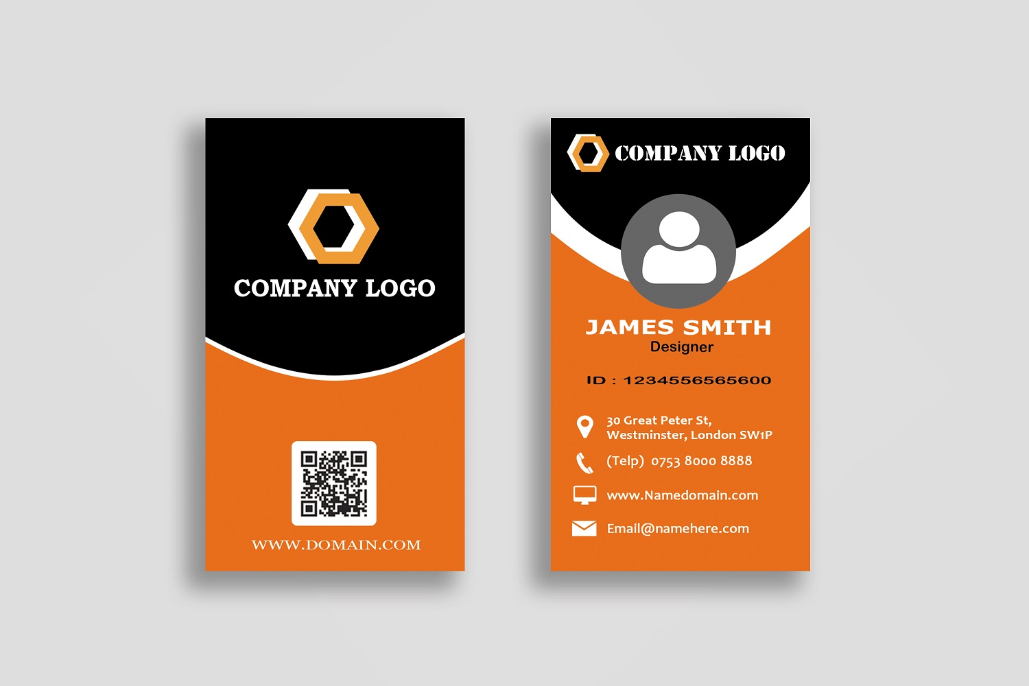 Modern Business Cards example image 7