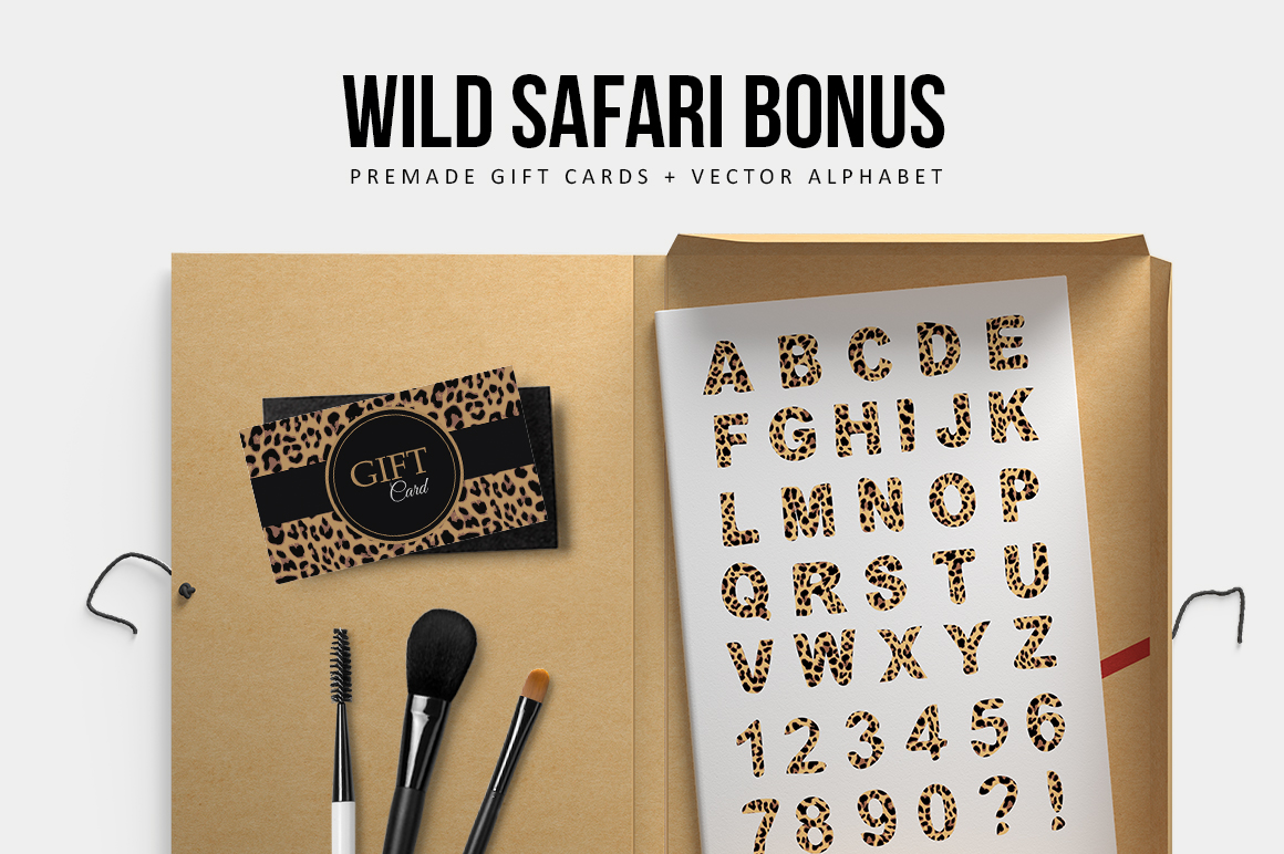 Wild Safari Patterns example image 5