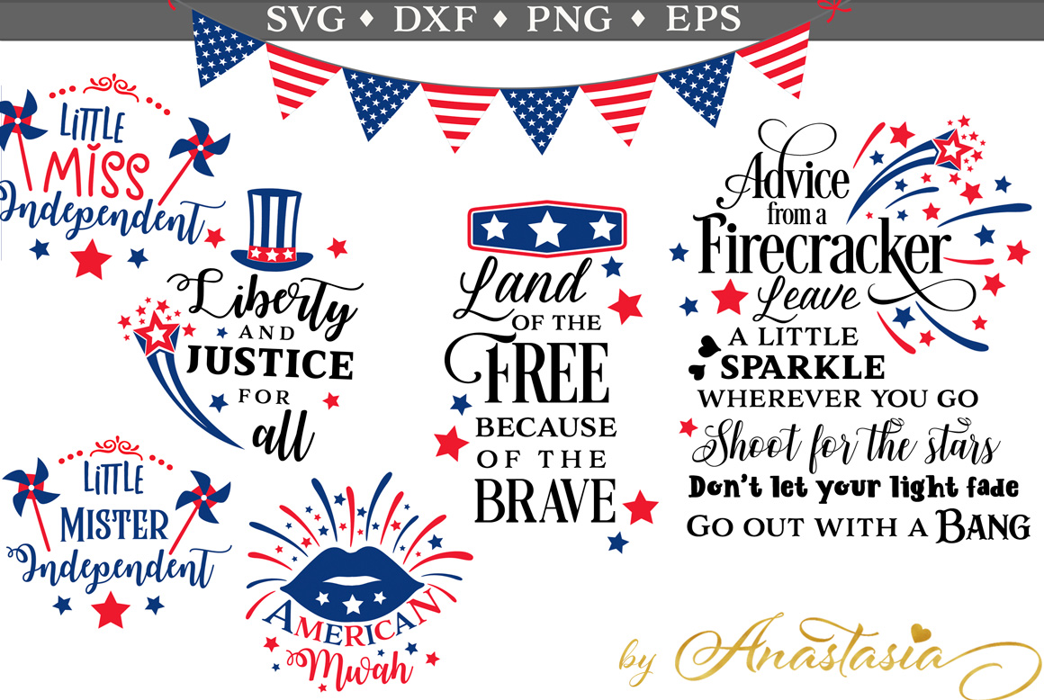 The 4th of July SVG Pack - Limited Promotion example image 1