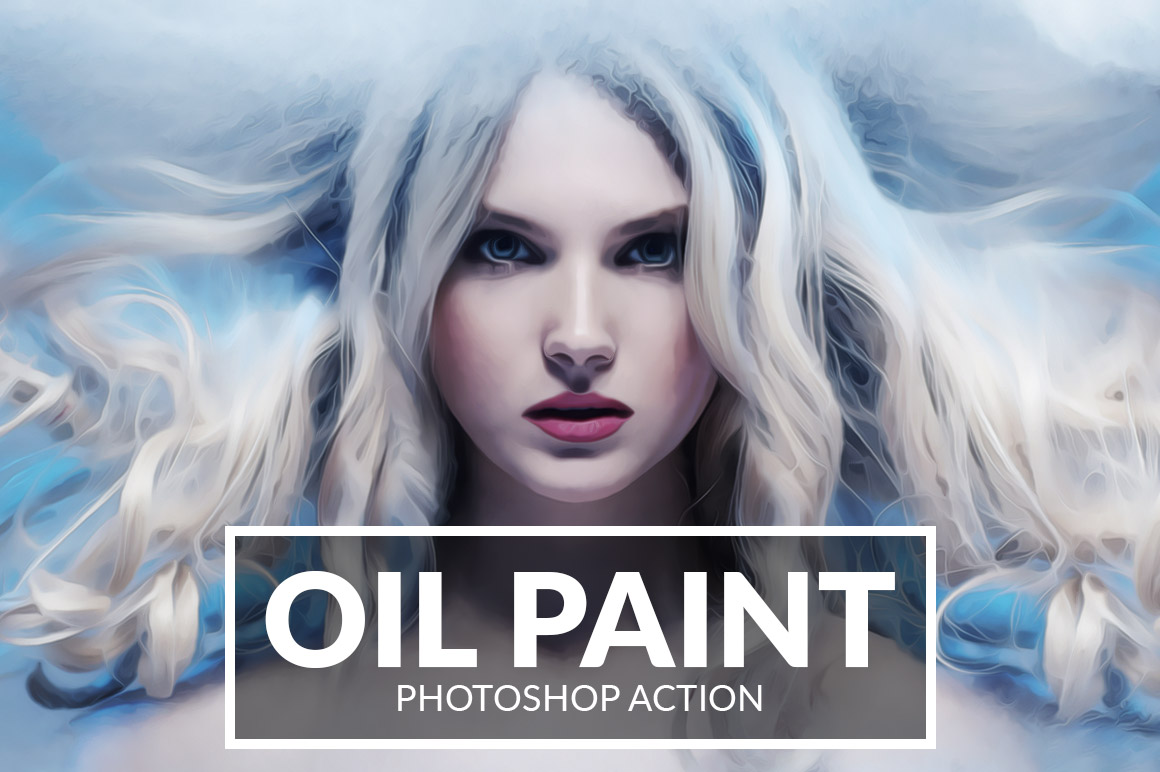 Oil Paint Photoshop Action example image 1