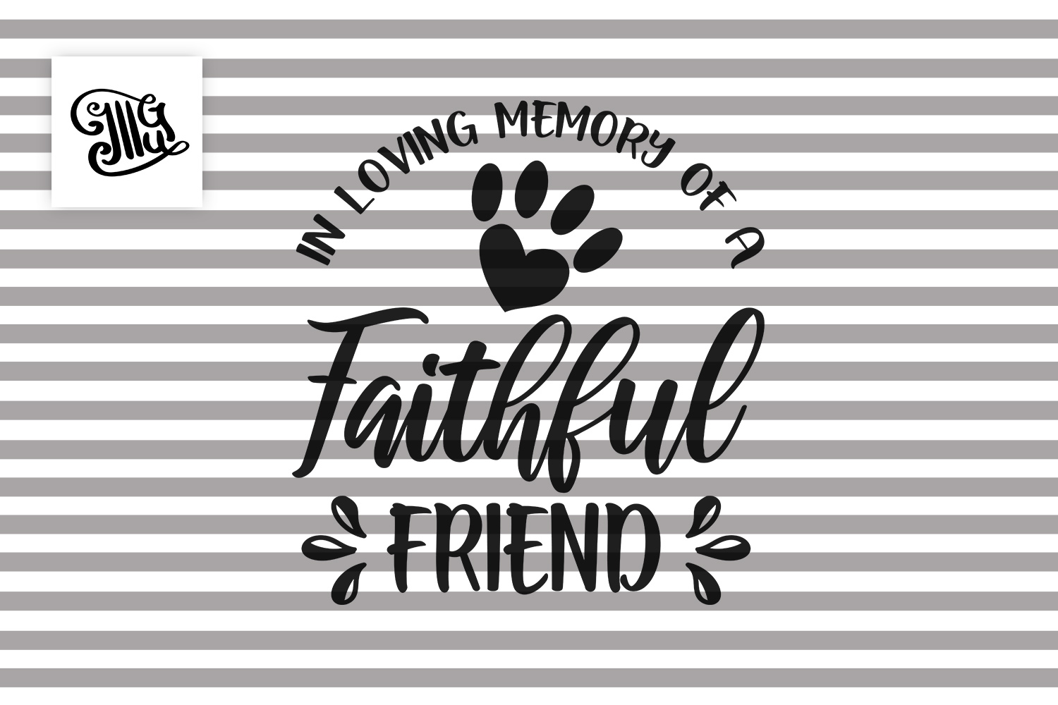 In loving memory of a faithful friend - Dog memorial example image 2