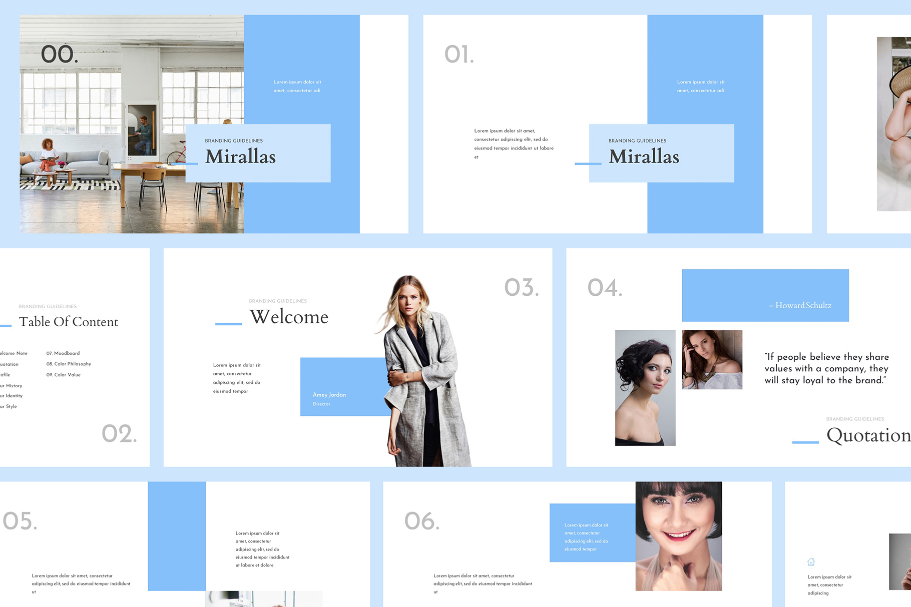 Mirallas Brand Guidelines Powerpoint example image 1