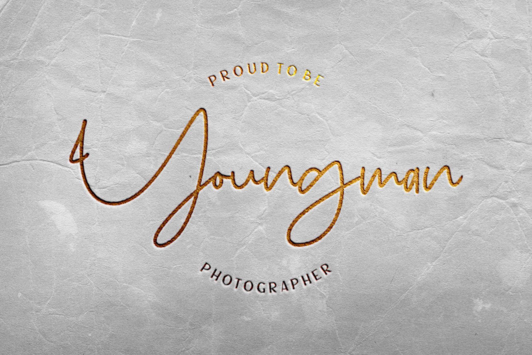 Sanpaullo - Signature Font example image 5