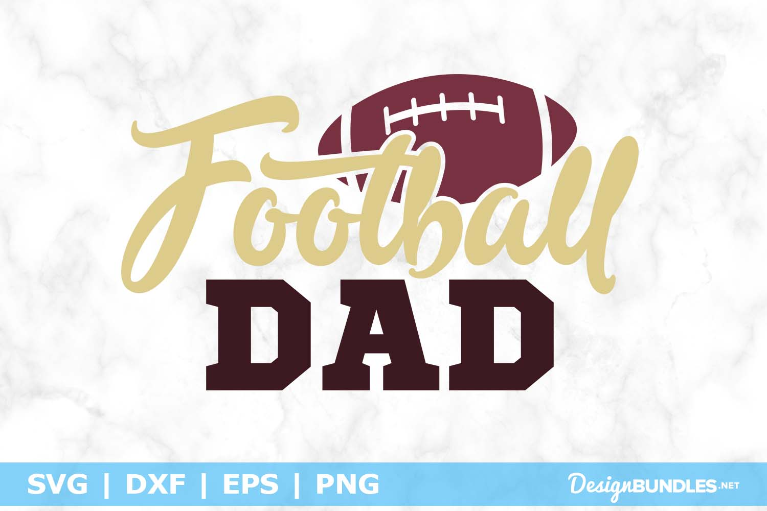 Football Dad SVG File example image 1