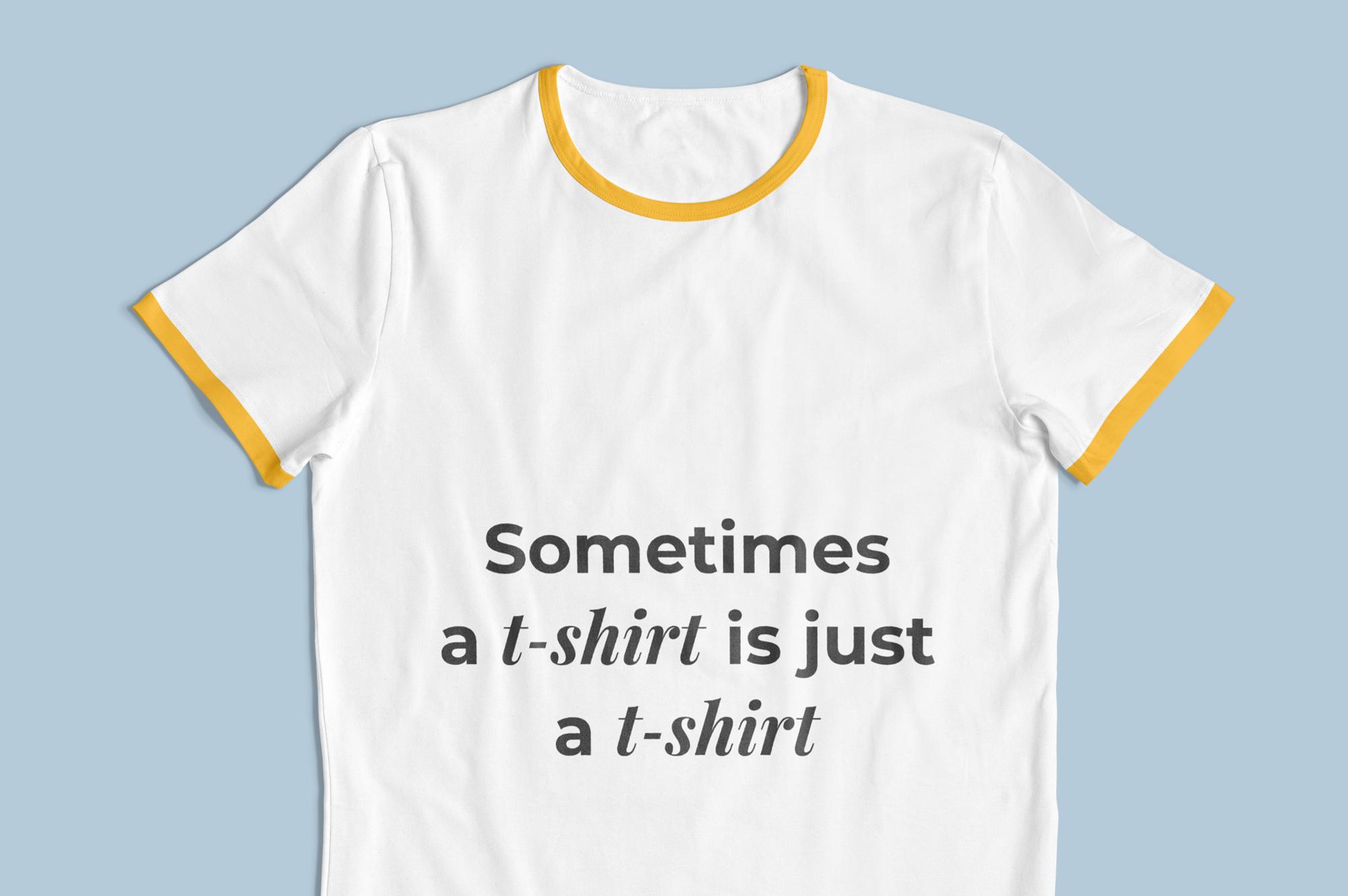 Customizable T-Shirt Mockups Pack example image 9
