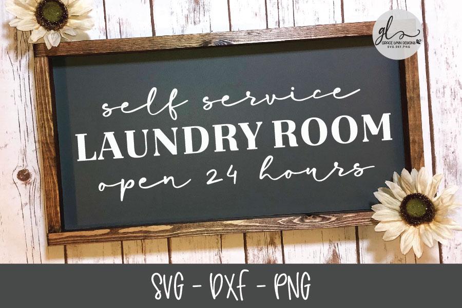 Laundry Sign Bundle - 20 Designs - SVG Cut Files example image 14