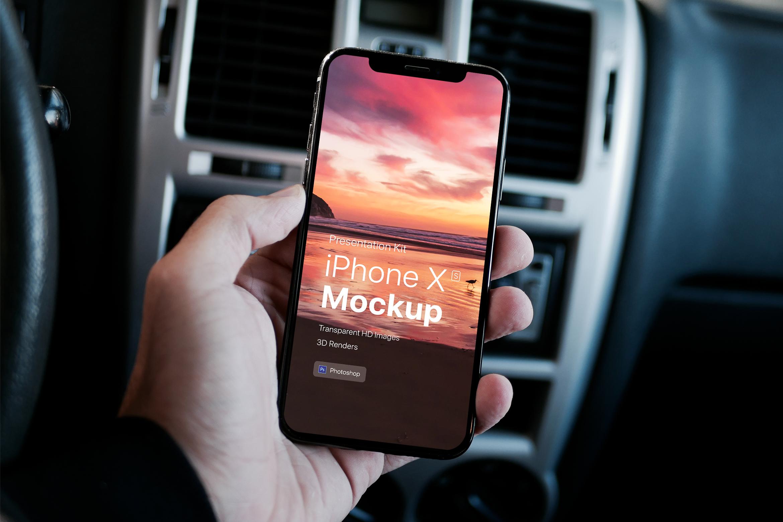Presentation Kit - iPhone showcase Mockup_v7 example image 3