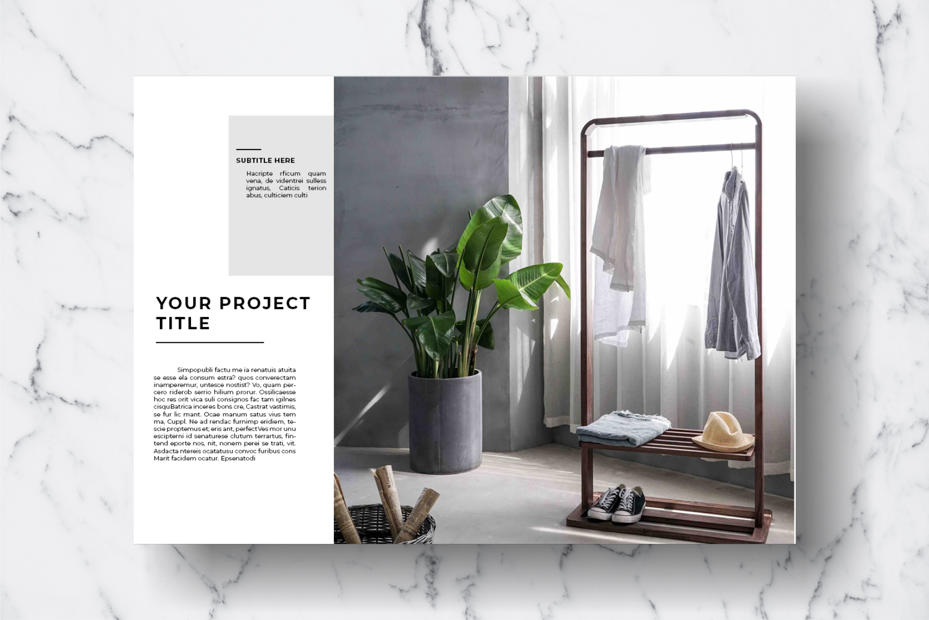 Magazine Template Vol. 11 example image 10
