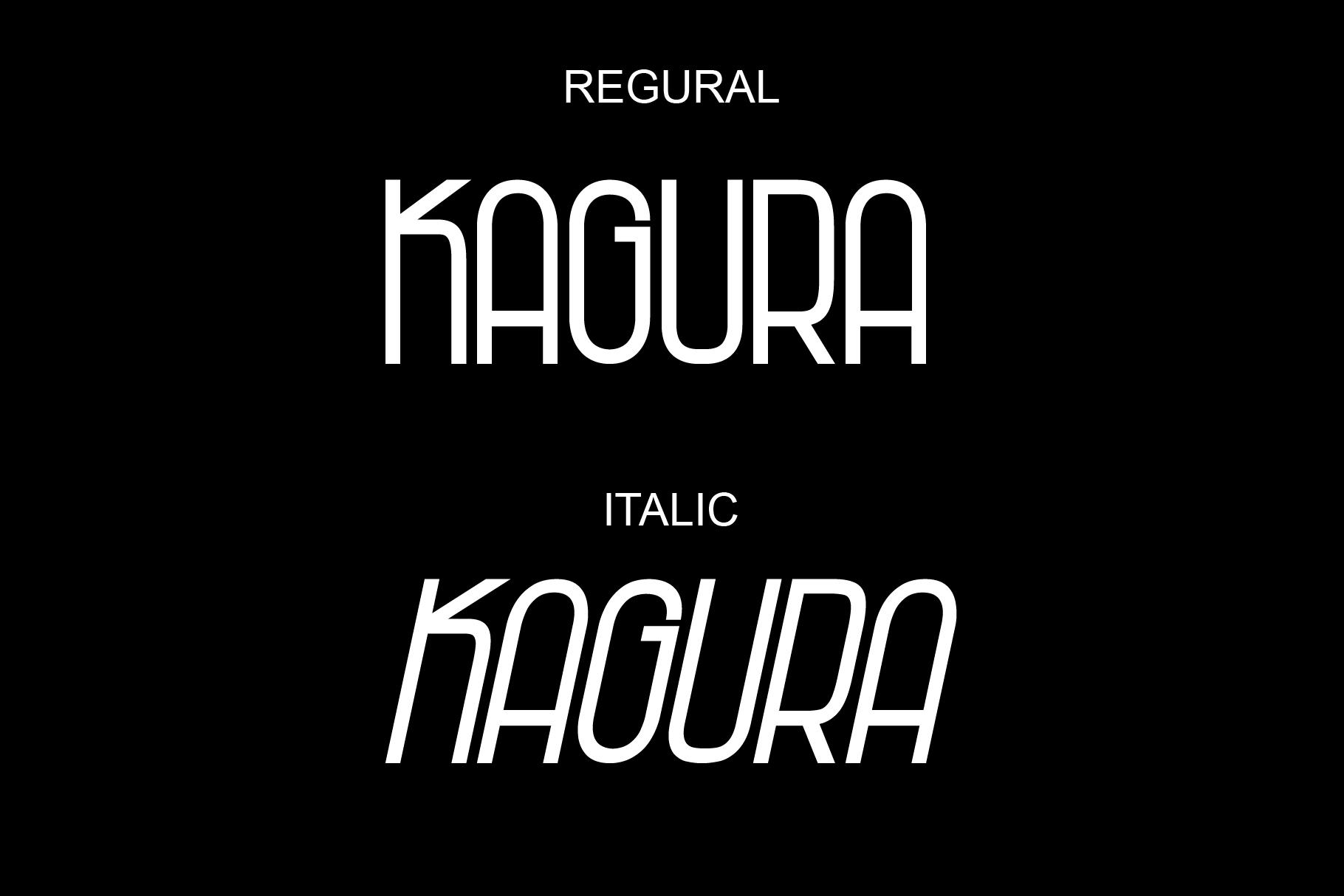 Kagura - Sans Serif example image 2