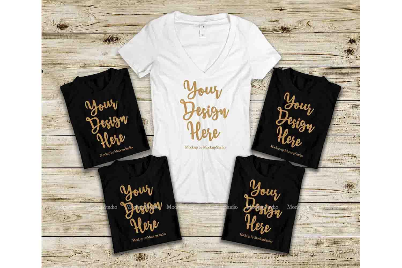 c1d05fd072707 Bridal Squad T-Shirts Set, Bachelorette Party Shirts Mockup