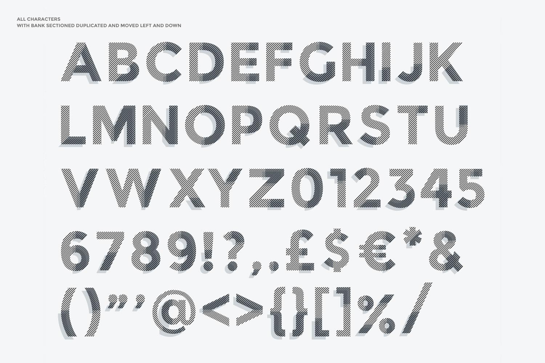 Bank Display Font example image 6
