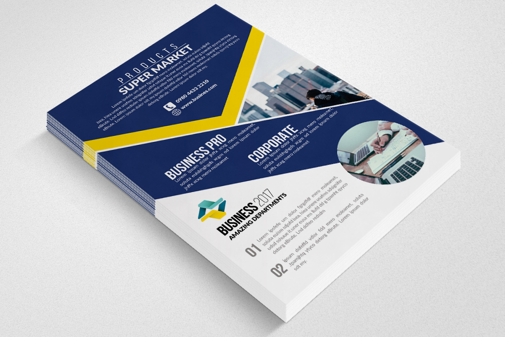 Business Firm Flyers Templates example image 2