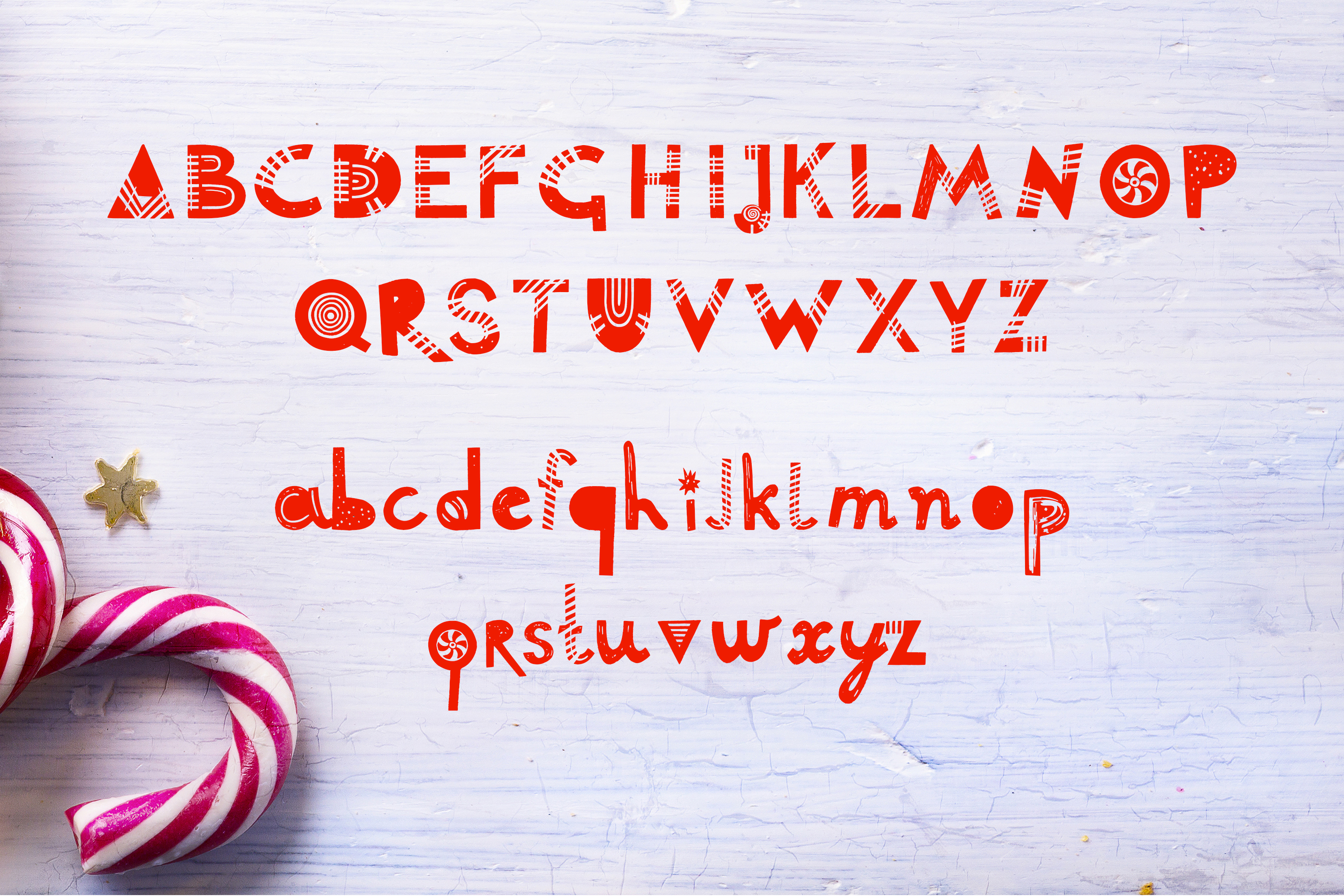 Lolly font example image 2